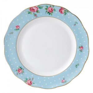 royal-albert-polka-blue-vintage-plate-27cm